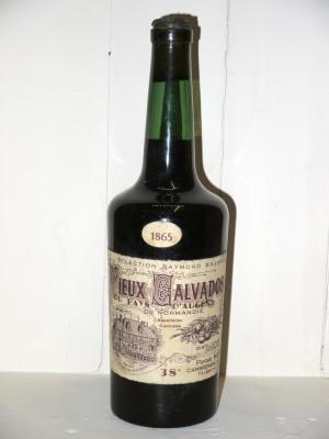 """Grand Spiritueux  Vieux Calvados du Pays d'Auge 1865 """"Sélection Raymond Baudouin"""" Domaine Pierre Huet"""