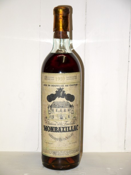 """Château de la Fonvieille 1959 """"Réserve de Theulet"""" Monbazillac"""