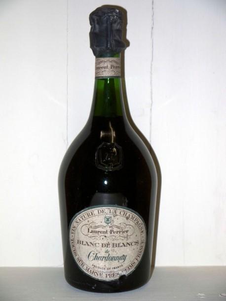 Vin nature de la Champagne Laurent Perrier Blanc de Blancs de Chardonnay présumée année 70/80