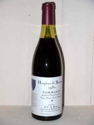 """Pommard 1982 """"Cuvée Dame de la Charité"""" Hospices de Beaune"""