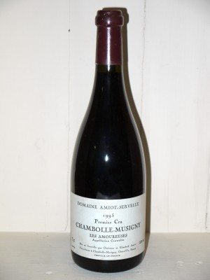 """Chambolle-Musigny """"Les Amoureuses"""" 1995 Amiot-Servelle"""