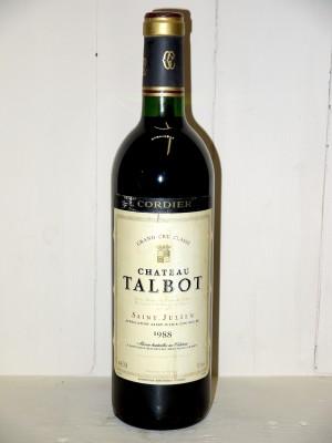 Château Talbot 1988