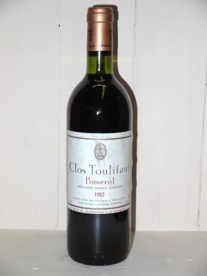Grands crus Pomerol - Lalande de Pomerol Clos Toulifaut 1982