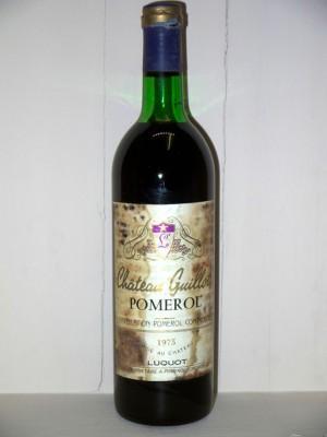 Grands vins Pomerol - Lalande de Pomerol Château Guillot 1975