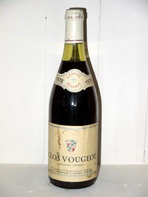 Clos Vougeot 1978 Domaine Aujoux