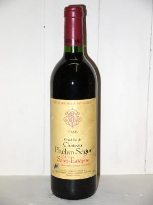 Château Phélan Ségur 1986