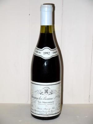 """Savigny-Les-Beaune 1er Cru """"Les Marconnets"""" 1992 Simon Bize"""