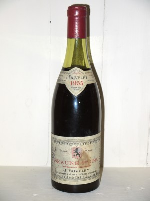 Grands vins Beaune - Savigny-les-Beaune Beaune 1er Cru 1955 Domaine Faiveley