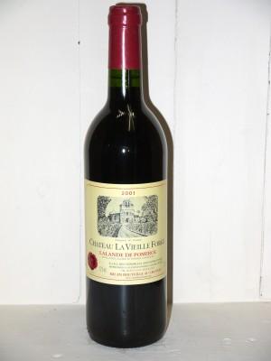 Grands vins Pomerol - Lalande de Pomerol Château La Vieille Forge 2001