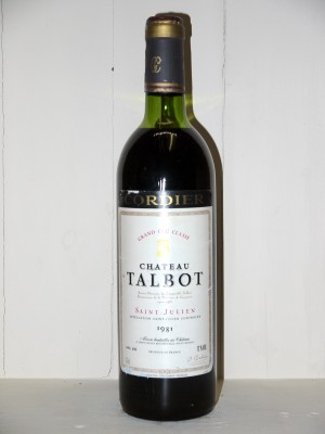 Château Talbot 1981