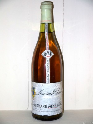 Grands vins Meursault Meursault-Charmes 1979 Maison Bouchard Ainé et fils