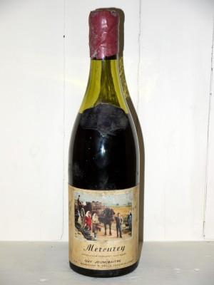 Millesime prestige Bourgogne Mercurey 1959 Guy Jeunemaitre