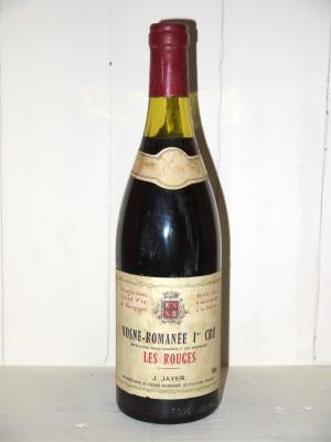 """Vosne-Romanée 1er Cru """"Les Rouges"""" 1980 J.Jayer"""