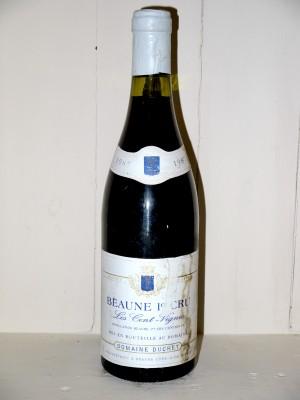 """Beaune 1er Cru """"Les Cent Vignes"""" 1987 Domaine Duchet"""
