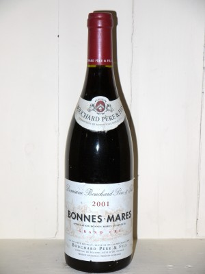 Grands vins Chambolle-Musigny Bonnes-Mares 2001 Bouchard Père et fils
