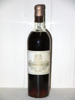 Grands vins Sauternes - Barsac - Loupiac Château Coutet 1953