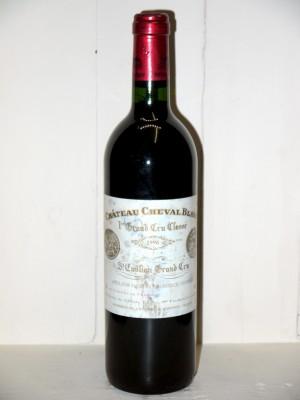Grands vins Saint-Émilion Château Cheval Blanc 1996