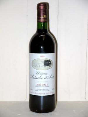 Grands vins Médoc Château Patache d'Aux 1993