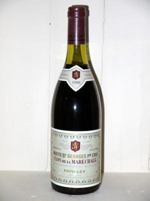 Grands vins Nuits-Saint-Georges Nuits-Saint-Georges 1er Cru Clos de la Maréchale 1988 Domaine Faiveley