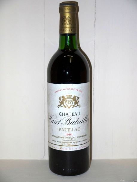 Château Haut-Batailley 1981