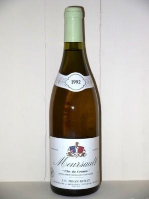 "Meursault ""Clos du cromin"" 1992 Domaine J-c Jhean-morey"