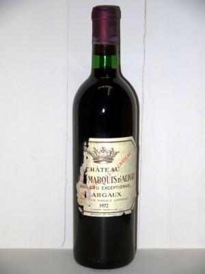 Château Bel Air-marquis d'Aligre 1972