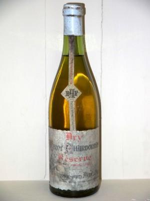 Dry pinot Chardonnay réserve Maison Bouchard Ainé et fils présumée années 70