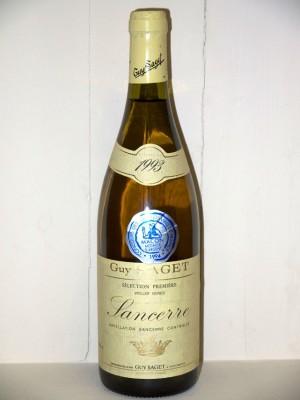 Sancerre 1993 sélection première vieilles vignes Domaine Guy Sâget
