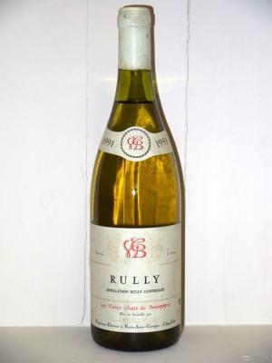 Rully 1991 Les vieux chais de Bourgogne Domaine Jean-Michel Maillot