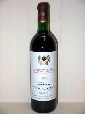 Château Beau-Séjour Bécot 1990