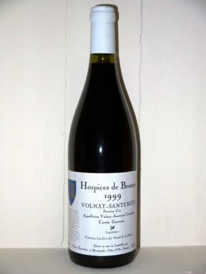 Grands crus Autres appellations de Bordeaux Hospices de Beaune 1999 Volnay-Santenots Cuvée Gauvain