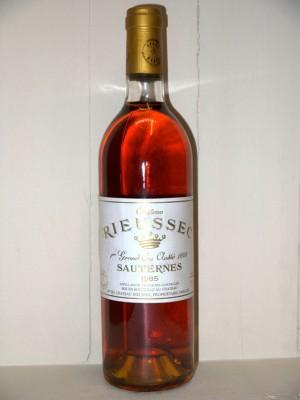 Grands vins Autres régions Château Rieussec 1985 Domaines barons de Rothschild