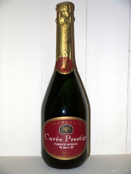 Champagne cuvée prestige brut Fabrice Moreau
