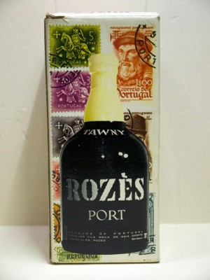 Vins grands crus Portugal Tawny rozés port presumed 1973