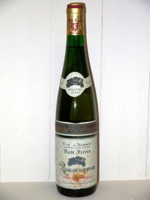Domaine Bott frères Riesling réserve personnelle 1987