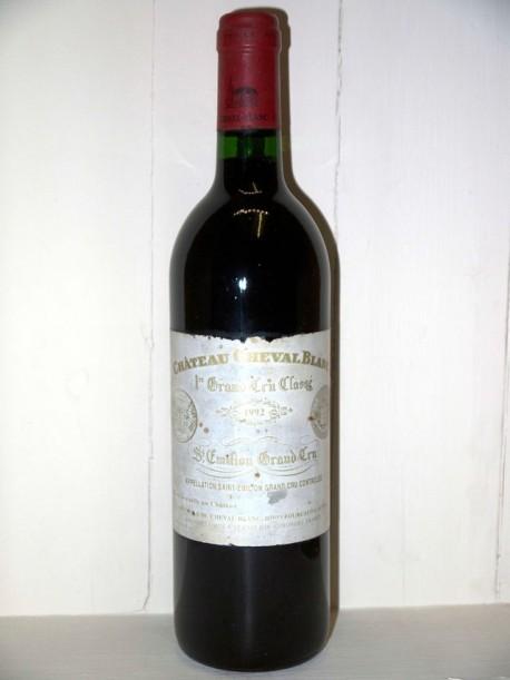 Chateau Cheval Blanc Bottle 1996 Empty