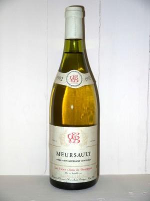 Meursault 1992 Les vieux chais de Bourgogne Jean Michel Maillot
