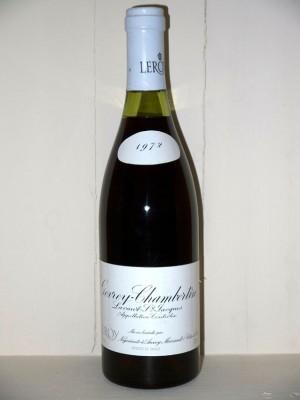 Gevrey-Chambertin 1972 Lavaut Saint-Jacques Domaine Leroy