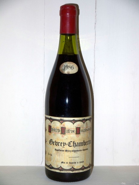 Gevrey-Chambertin 1986 Maison Fournial Jean
