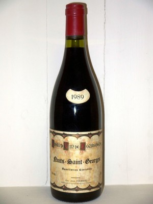 Nuits-Saint-Georges 1986 Maison Fournial Jean