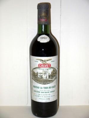 Grands vins Saint-Émilion Château La Tour-du-Cauze 1961