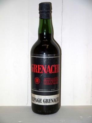 Vin doux naturel Grenache années 50/60