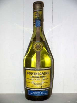 Grand Spiritueux  Dominicaine La Véritable Liqueur années 50