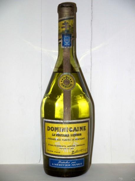 Dominicaine La Véritable Liqueur années 50