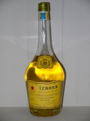 Grand Liquor  Izarra Jaune 1950s