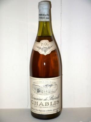 Grands crus Chablis Domaine de Biéville Chablis 1976