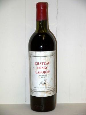 Grands vins Médoc Château Franc Laporte 1964