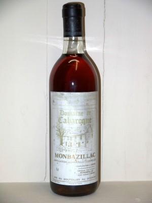 Vins anciens South West Domaine de Cabaroque 1975
