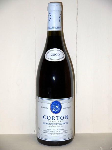 Corton Grand Cru Le Rognet-et-Corton 2000 Domaine Henri et Gilles Buisson