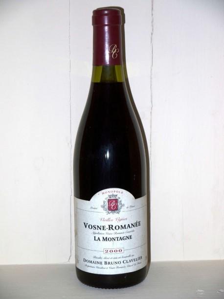 Vosne Romanée Vieilles Vignes La Montagne 2000